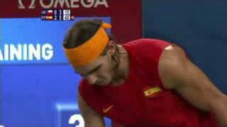 Spain vs Chile - Men's Tennis Final - Beijing 2008 Summer Olympic Games