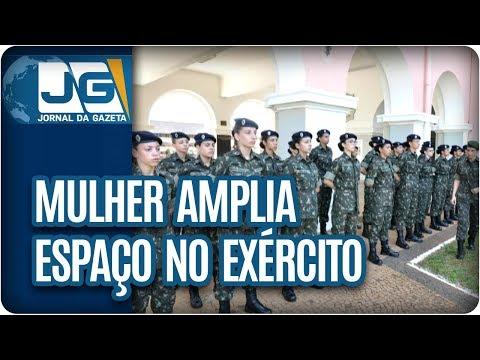 Mulher amplia espaço no Exército