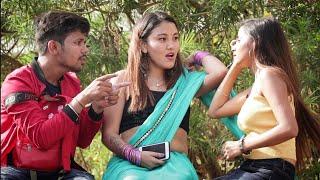 Annu Singh: Cute Couple Fighting in Public Prank - Ft. | Couple breakup fighting prank | {BRbhai}