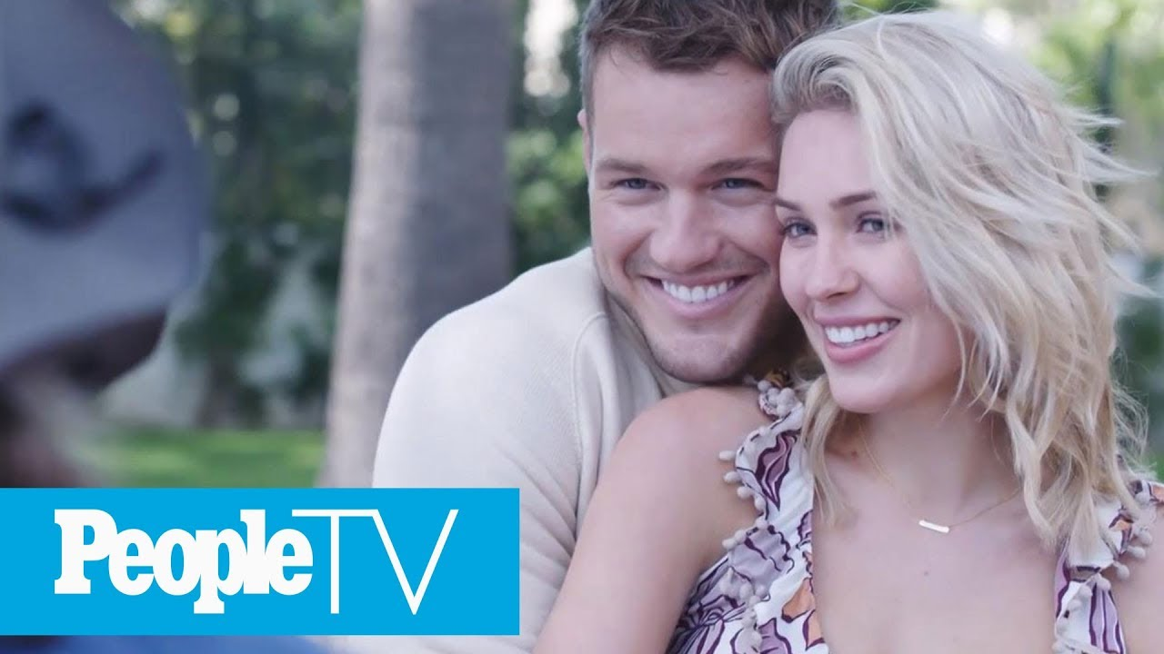 The Bachelors Colton Underwood On Engagement Plans With Cassie Peopletv