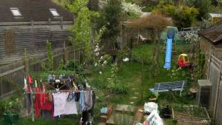 Forest garden timelapse - Winter to Spring 2011