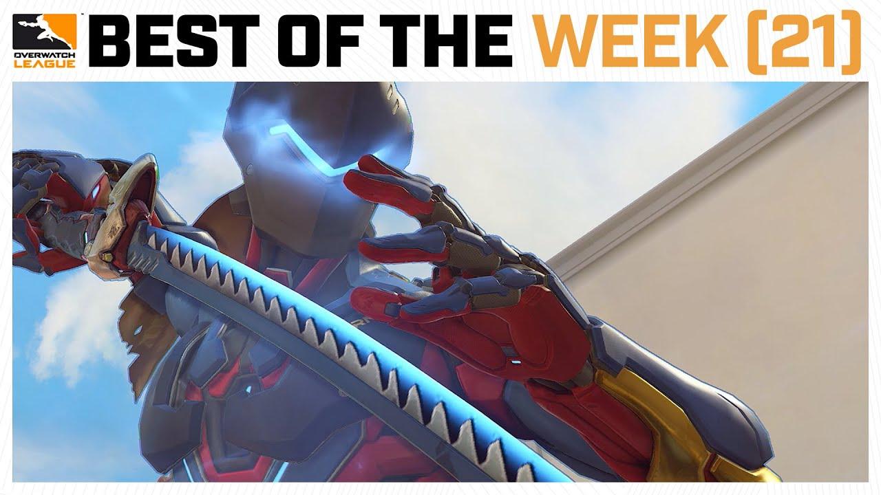 Mark of the NINJA | Best of the Week #13 | Overwatch League 2020 Week 21