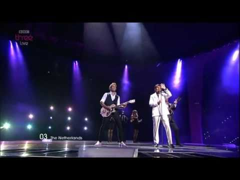 "The Netherlands: ""Never Alone"", 3Js - Eurovision Song Contest Semi Final 2011 - BBC Three"
