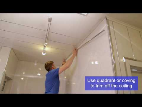 PVC Decorative Wall, Ceiling and Flooring Panel Installation Video | Omega Changing Rooms Ltd