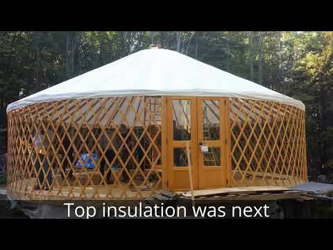 Yurt Raising 30 foot Pacific Yurt Photo collection of weekend