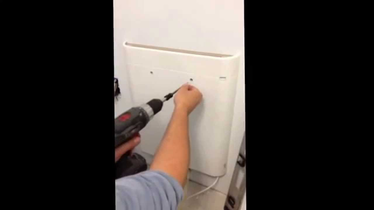 Envi Wall Mounted Heater Install From Eheat Youtube