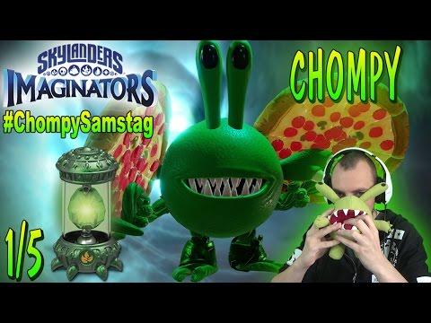 #ChompyCreationDay -  Chompy Ninja Creation   Let´s Play Skylanders Imaginators Deutsch