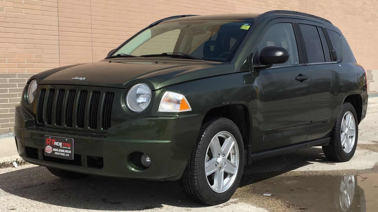 2008 jeep compass sport 4wd automatic alloy wheels power windows locks huge value youtube. Black Bedroom Furniture Sets. Home Design Ideas