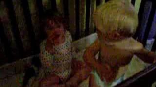 Baby sitting crying Kate