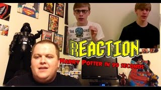 Harry Potter in 99 Seconds REACTION!