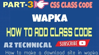[Bangla]wapka tutorial  | How to make A download site  in Android[part-3]
