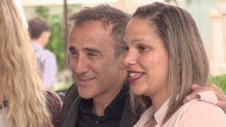 EXCLUSIVE : Elie Semoun and Elsa Zylberstein at the Martinez hotel in Cannes