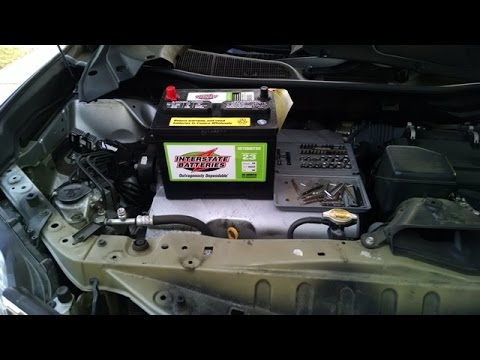 Lexus Rx350 Battery Installation By Froggy