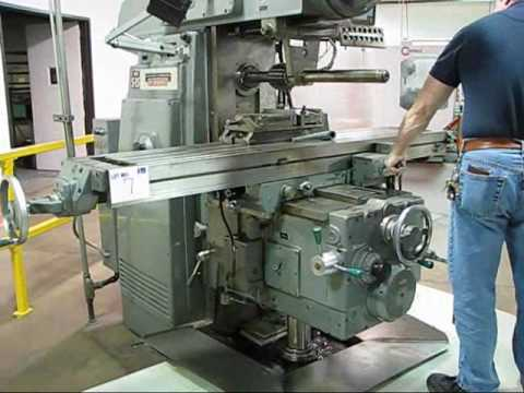 Horizontal Milling Machine >> Kearney Trecker Universal Horizontal Milling Machine Available