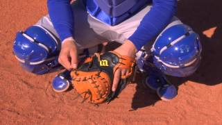 Blocking and Throwing Position - Catcher Fundamentals Series by IMG Academy Baseball (3 of 6)
