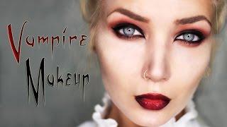 Seductive Vampire Makeup Tutorial || Halloween 2015