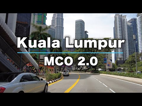 MCO 2.0 in Kuala Lumpur - 2021
