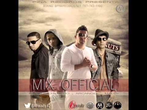 Pina recors Mix 2013 Plan B Tego Claderon Rkm Ñengo Flow y varios artistas