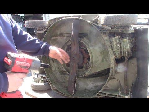 Honda Lawnmower Clutch Noise Repair