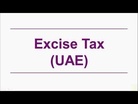 UAE Excise Tax | Key Questions