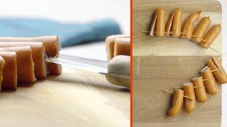 Mache aus 5 Würstchen und 10 Zahnstochern das coolste ...
