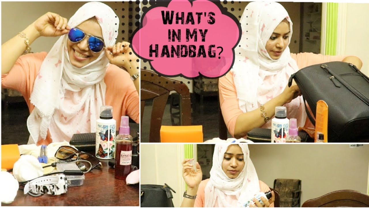 What's In My Handbag ? / Handbag Secrets in Tamil / Tamil Vlog / Zulfia's Recipes