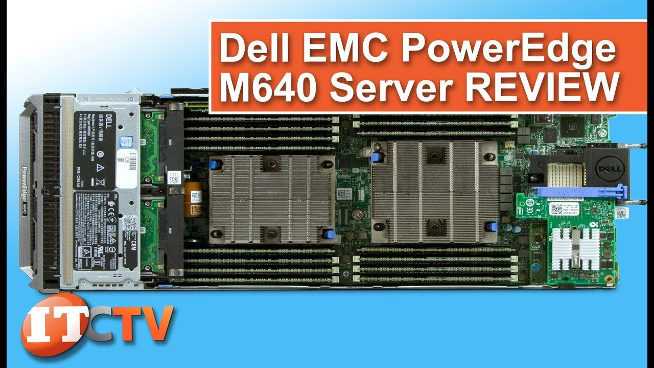 Dell EMC PowerEdge M640 Server Blade | IT Creations