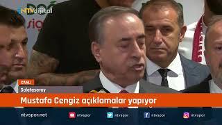 CANLI | Mustafa Cengiz açıklamalar yapıyor