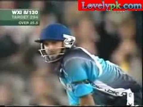 Shahid Afridi World XI Innings 2005