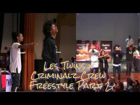 Les Twins & Criminalz Crew Cypher pt 2 | Close Up