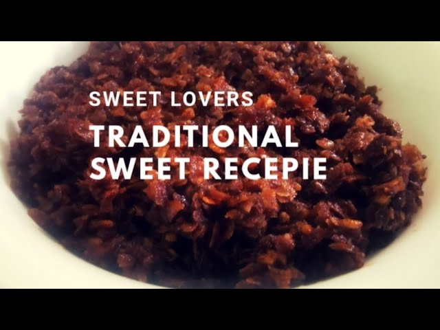 TRADITIONAL HEALTHY SWEET /SIMPLE RICE FLAKES SWEET /FESTIVAL SWEET/SWEET LOVERS HEALTHY CHOICE