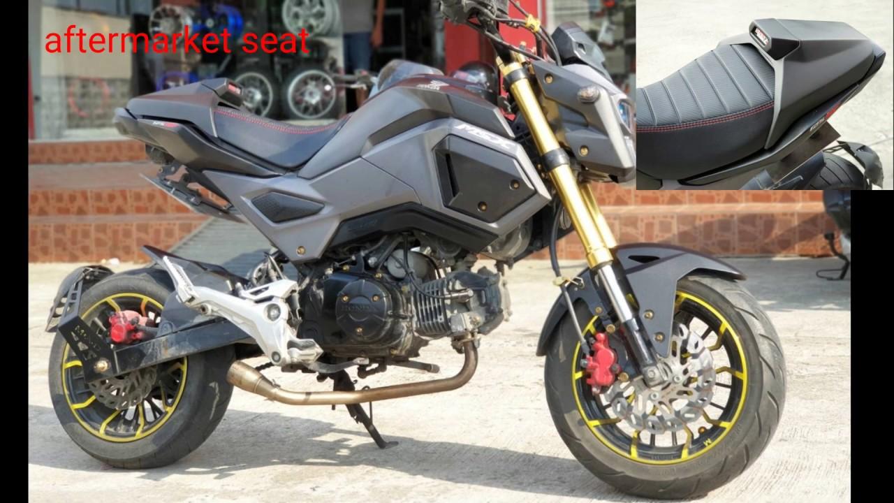 Moligh doll pour Grom MSX125 SF Moto C?T/é Arri/èRe Garde-Boue Couveremote Controlle de Roue Arri/èRe Garde-Boue Pare-Boue