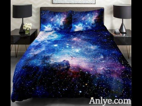 Anlye galaxy bedding set - Upgrade your bedroom Diy your bedding set with unique duvet cover set