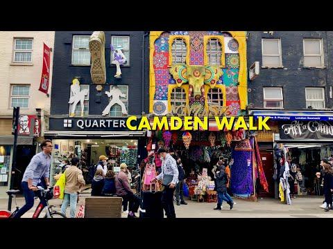 Camden Town Walking Tour - Pubs, Market, Venues, History (4K)