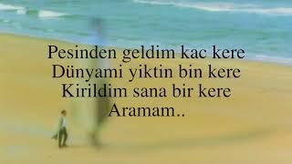 Ibrahim Tatlises - Aramam ⎮Sözleri⎮Lyrics