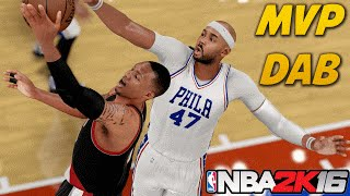 NBA 2K16 MyCAREER Mode - Dabbin At The Foul Line | MVP Chants For iPodKingCarter