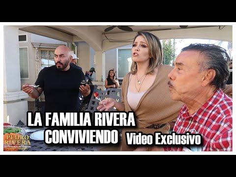 """La Familia Rivera conviviendo """"Lupillo Rivera"""" """"Pedro Rivera"""" """"Video Exclusivo"""""""