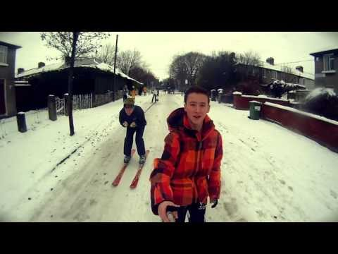 Skiing in Dublin - GoPro HD Edit