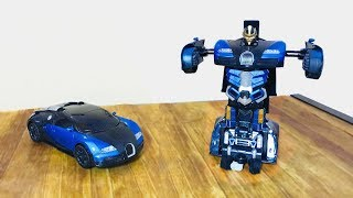 Bugatti Transformer RC CAR 1 14 Scale 2 4Ghz Radio Controller - Unboxing amp Testing Giveaway