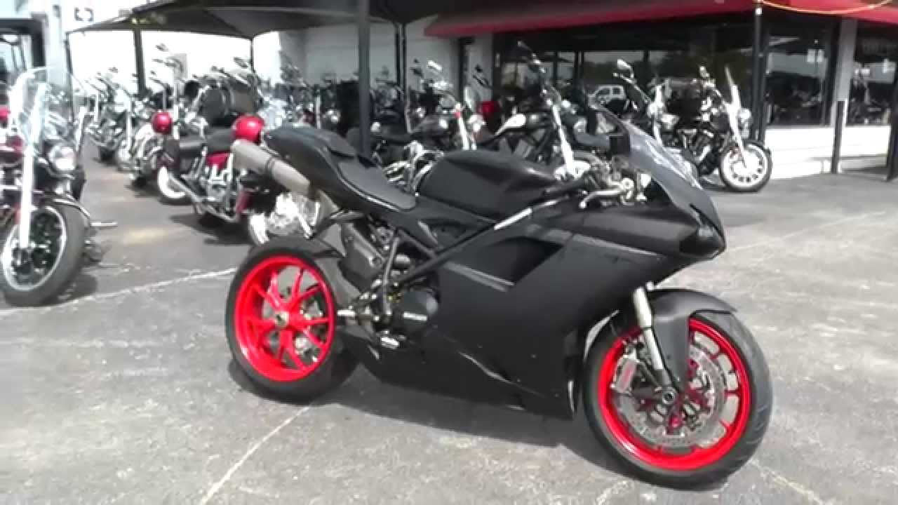 021043 - 2012 Ducati 848 EVO - Used Motorcycle For Sale - YouTube