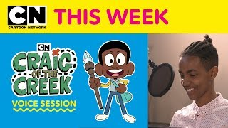 Video Craig of the Creek | Craig of the Creek Voice Session | Cartoon Network This Week download MP3, 3GP, MP4, WEBM, AVI, FLV Agustus 2018