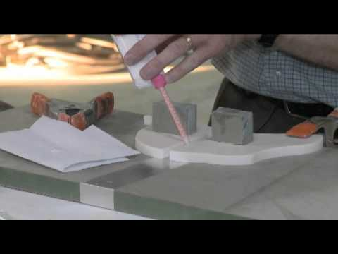 C.H. Briggs Fabrication Workshop: Seaming Corian.flv