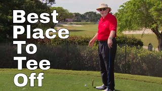 BEST PLACE TO TEE OFF WITH DAVE PELZ