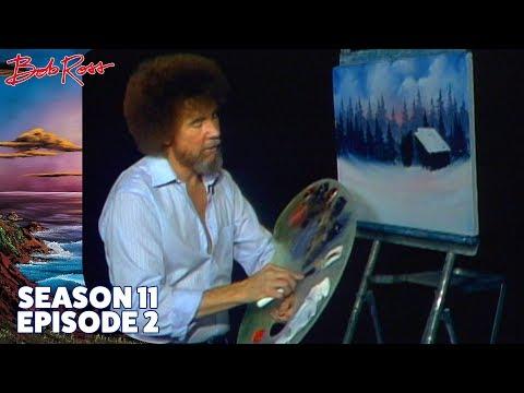 Bob Ross - Country Cabin (Season 11 Episode 2)