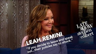 Leah Remini Argues That Scientology Isn't A Religion