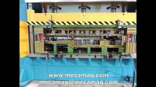 "Hydraulic press MECAMAQ ""PHA series"" 400tons"