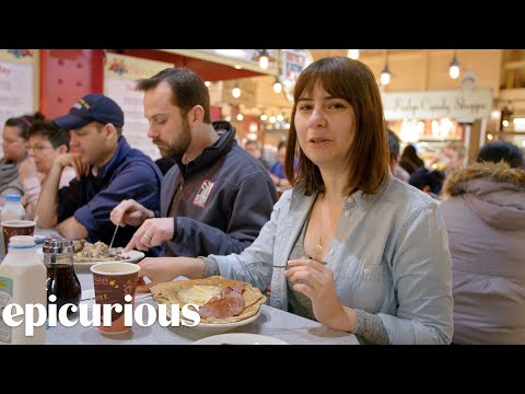 Deciding What To Eat At Philly's Reading Terminal Market   Lost In The Supermarket   Epicurious
