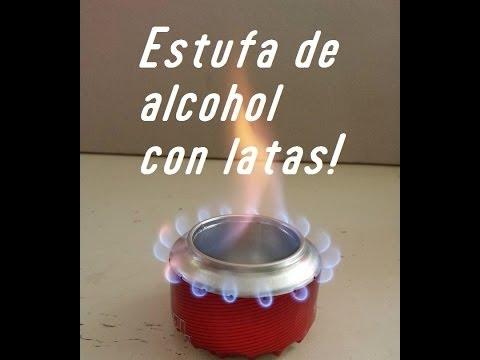 Estufa de alcohol con latas! DIY   NQUEH