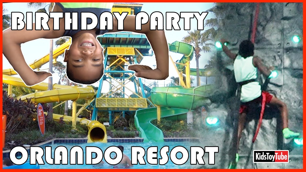 DANCE PARTY AT THE BEST ORLANDO RESORT