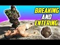 💩 SNEAKING INTO A BASE AND FILLING THEM WITH POOP! Ark: Breaking And Entering Base Tours E2